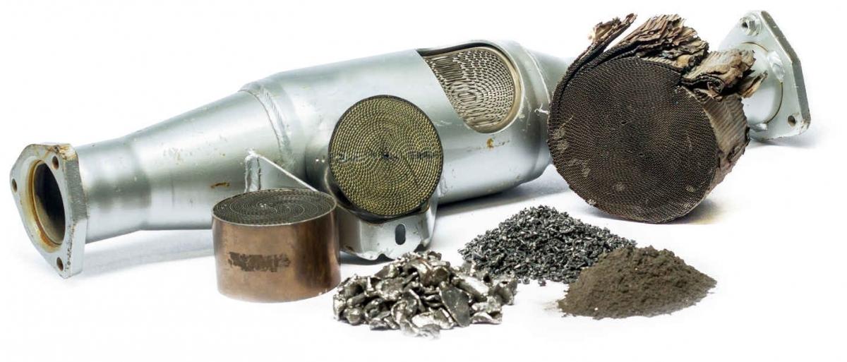 mairec edelmetall precious metals recycling autokatalysatoren dieselpartikelfilter