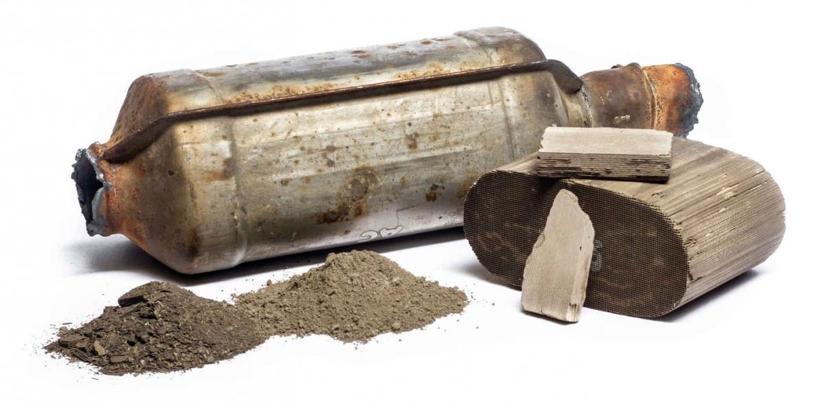 mairec edelmetall precious metals recycling autokatalysatoren keramische katalysatoren