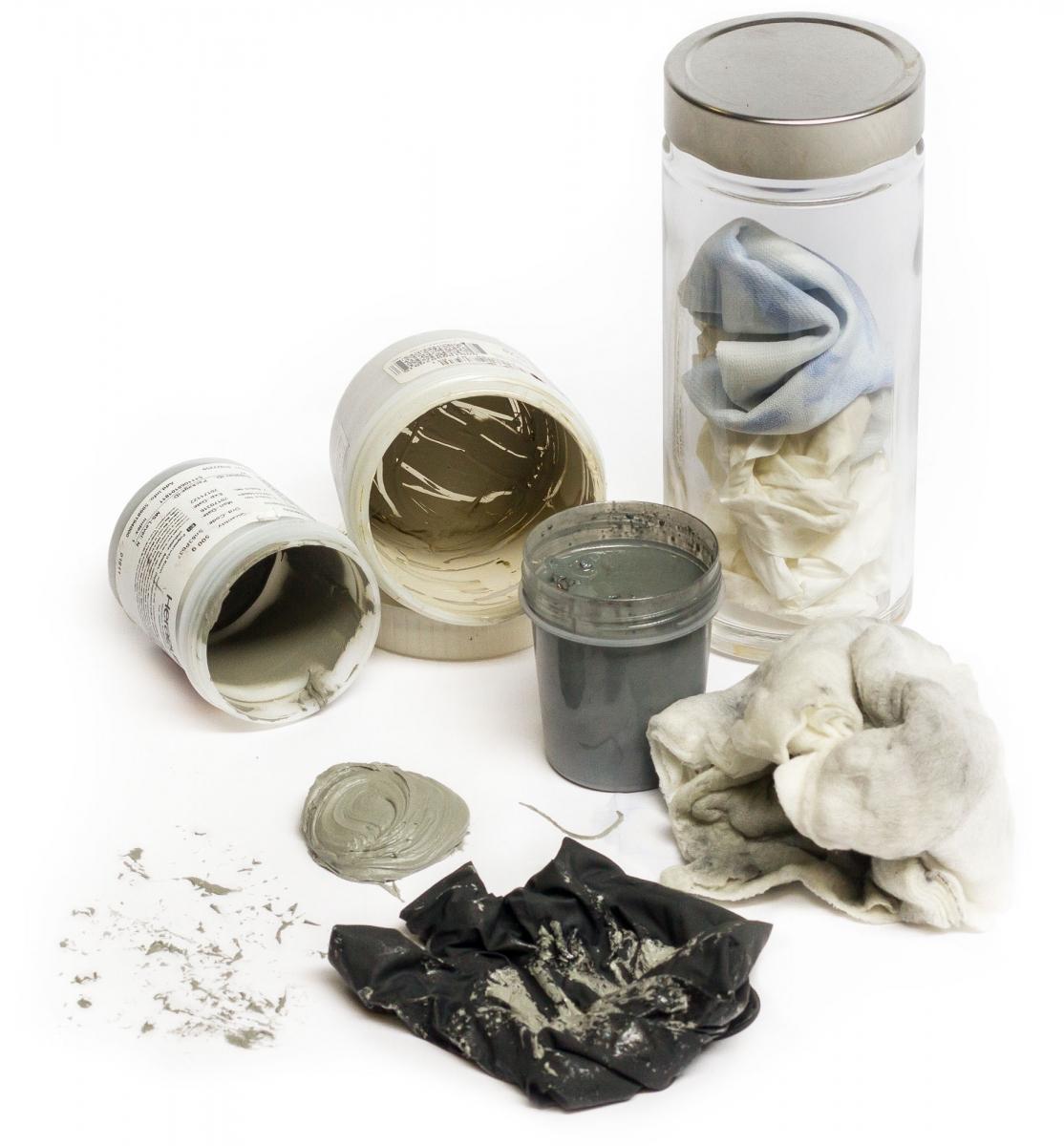 mairec edelmetall precious metals recycling industrieabfaelle industrial waste putztuecher pastendosen destilate cleaning wipes paste jars distillates