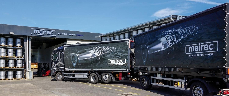 mairec edelmetall precious metals recycling company truck